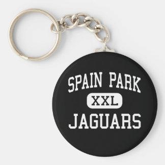 Spain Park - Jaguars - High - Hoover Alabama Basic Round Button Key Ring