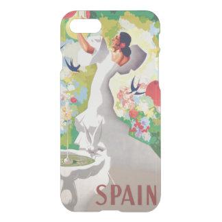 Spain Senorita Birds Flowers Fiesta Garden iPhone 7 Case
