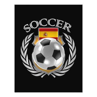 Spain Soccer 2016 Fan Gear 21.5 Cm X 28 Cm Flyer