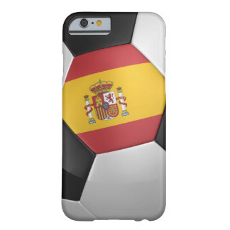 Spain Soccer Ball Barely There iPhone 6 Case