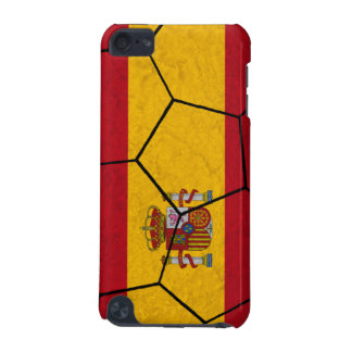 Spain Soccer Ball iPod Touch Case