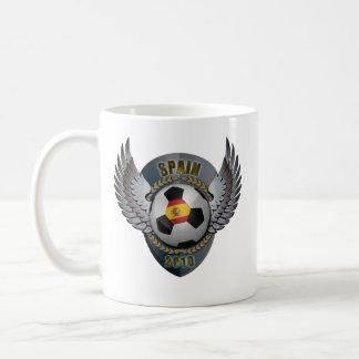 Spain Soccer Crest 2010 Mugs