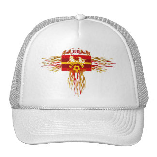 Spain soccer futbol fire logo tees and gifts cap