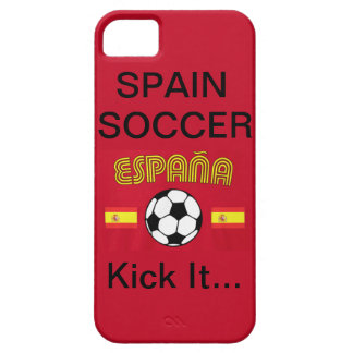 Spain Soccer, Kick It... iPhone 5 Covers