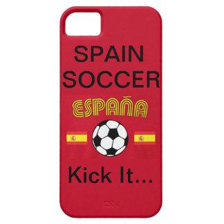 Spain Soccer, Kick It... iPhone 5 Case