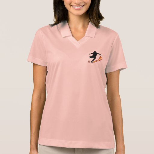 Spain Soccer Polo T-shirts