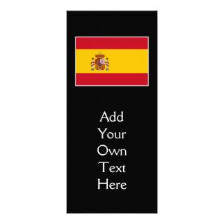 Spain – Spanish Flag Personalised Rack Card