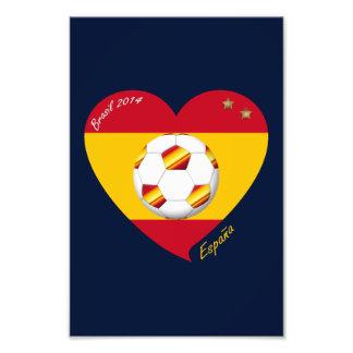 """Spain Spanish Football Soccer Team SOCCER """"SPAIN """" Photograph"""