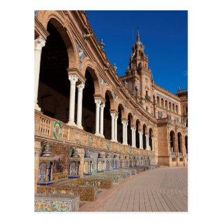 Spain square, Seville Postcard