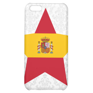 Spain Star Cover For iPhone 5C