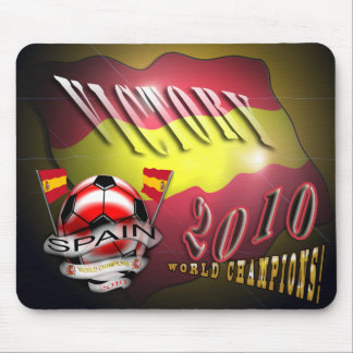 Spain Victory 2010 World Cup World Champions pads Mouse Pad
