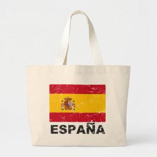 Spain Vintage Flag Tote Bag