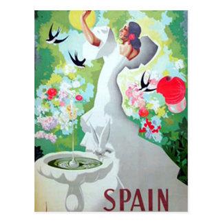 Spain Vintage Image Postcard
