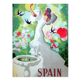 Spain Vintage Postcard