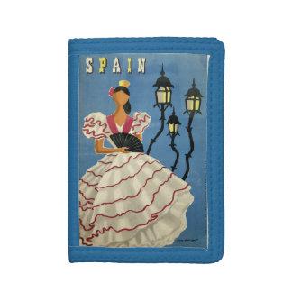 SPAIN Vintage Travel wallets