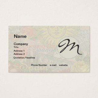 800 Spain Business Cards and Spain Business Card