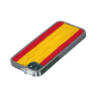 Spain wax pencil sketched flag iPhone 5 cover