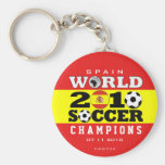Spain World Cup 2010 Champions Keychain