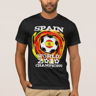 Spain World Cup 2010 Champions T-Shirt 6