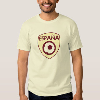 Spain World Cup Soccer Tee Shirts