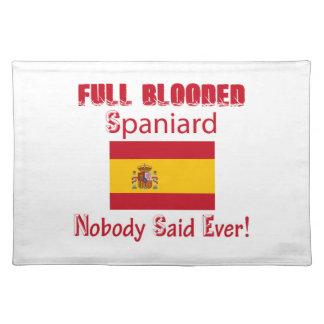 Spaniard  design place mats