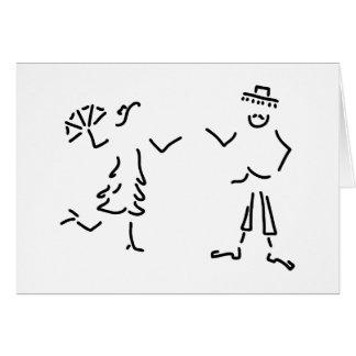 Spaniards Spaniard flamenco andalusien Card