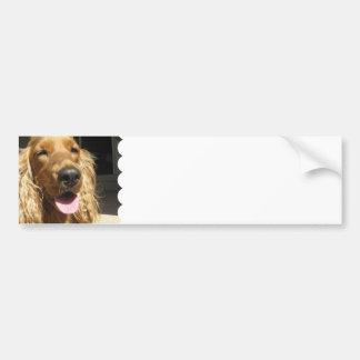 Spaniel Dog Bumper Sticker