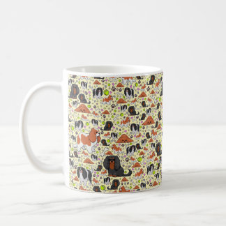Spaniel Mug, Yellow Coffee Mug