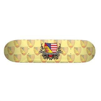Spanish-American Shield Flag Skateboard Deck