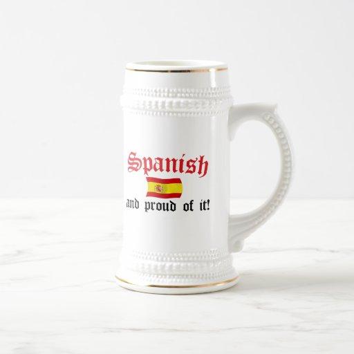 Spanish and Proud of It Coffee Mug