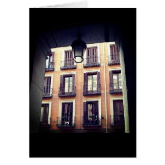 Spanish Architecture Madrid Card