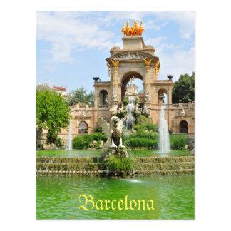 Spanish architecture postcard
