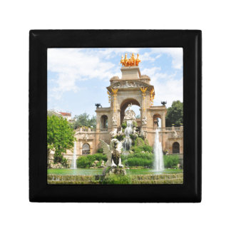 Spanish architecture small square gift box