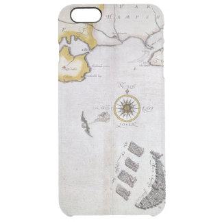SPANISH ARMADA, 1588 2 CLEAR iPhone 6 PLUS CASE