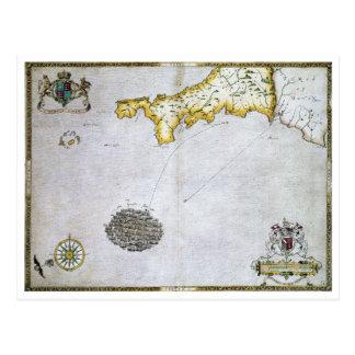 SPANISH ARMADA, 1588 POSTCARD