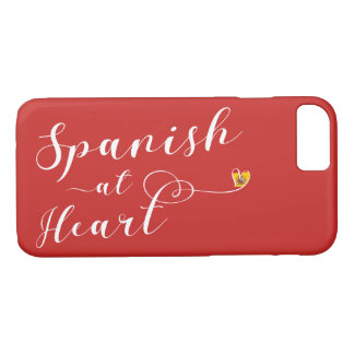 Spanish At Heart Mobile Phone Case