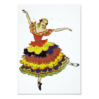 Spanish Ballerina Invitations
