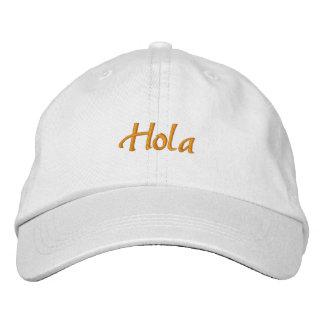 Spanish Baseball Cap Hola