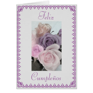 Spanish: Birthday Cumpleanos Card