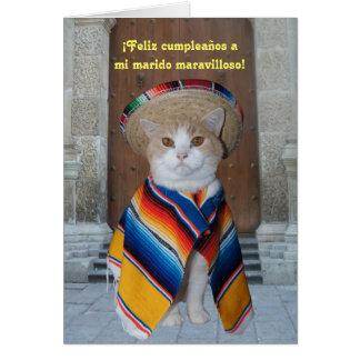Spanish Birthday for Husband (or Boyfriend) Card