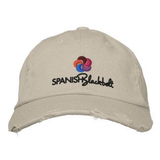 Spanish Blackbelt Cap Embroidered Baseball Caps