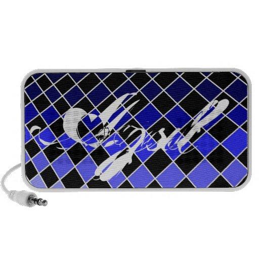 Spanish Blues Portable Speakers