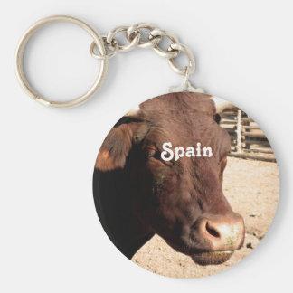 Spanish Bull Key Ring