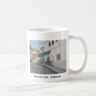 Spanish Cafe - Andalucia - Gaucin Coffee Mug