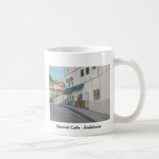 Spanish Cafe - Andalucia - Gaucin Coffee Mug