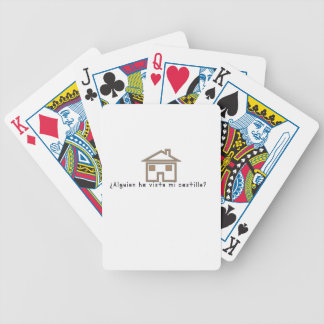 Spanish-Castle Bicycle Playing Cards