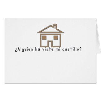Spanish-Castle Card