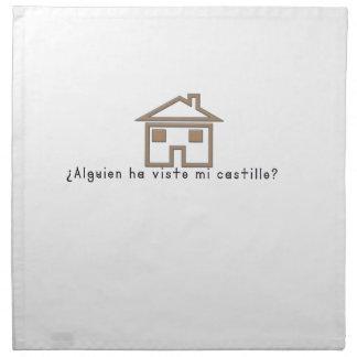 Spanish-Castle Napkin