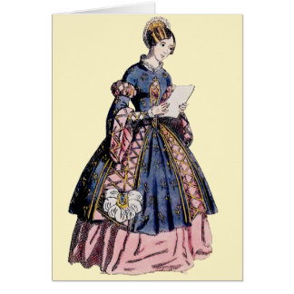 ~ SPANISH COSTUME ~ Personalised for CAROL ~ Card