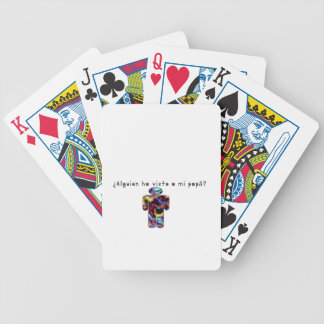 Spanish-Daddy Bicycle Playing Cards